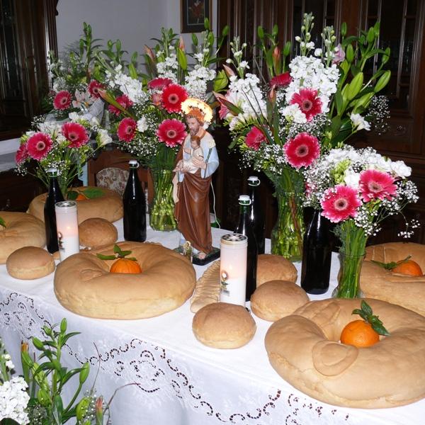Il rito ancestrale delleTavole di San Giuseppe
