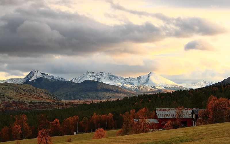 Tra laghi e brughiere in Norvegia